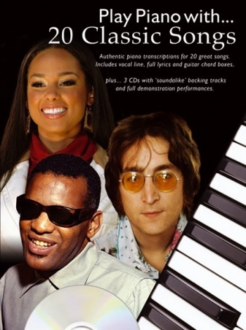 Play Piano With 20 Classic Songs - Piano - Bk&cd