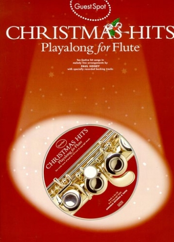Guest Spot: Christmas Hits: Flute: Book & CD