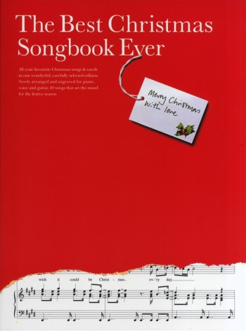 Best Christmas Songbook Ever: Piano Vocal Guitar