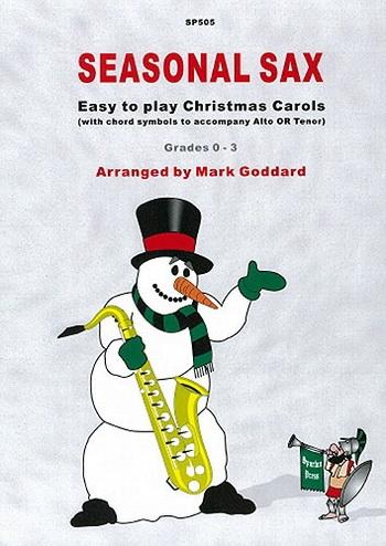 Seasonal Saxophone: Melody and Chords: Alto Saxophone