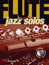 Play-Along Jazz Solos: Flute Book & CD