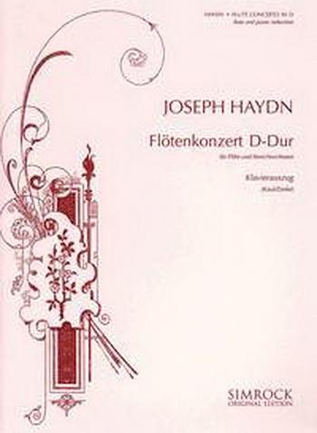 Flute Concerto: D Major: Flute & Piano (Schauer)