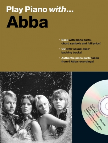 Abba: Play Piano With Abba: Book & Cd