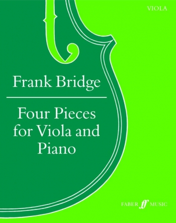 4 Pieces: Viola and Piano (Faber)