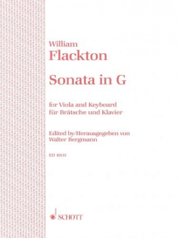 Sonata In G Op2: 6: Viola and Piano