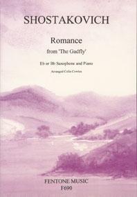 Romance From The Gadfly: Alto Saxophone (Fentone)