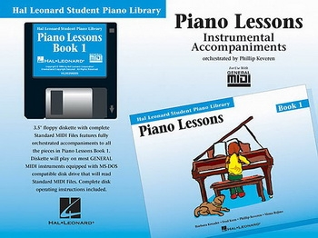 Hal Leonard Student Piano Library: Book 1: Gm Disk: Piano Lessons