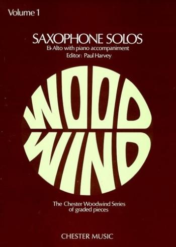 Saxophone Solos: Vol.1: Alto Saxophone & Piano (Harvey)