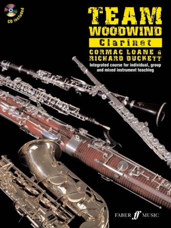 Team Woodwind: Clarinet: Book & CD (Duckett)