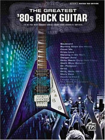 Greatest 80s Rock Guitar: Guitar Tab: Album