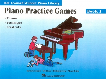 Hal Leonard Student Piano Library: Book 1: Practice Games