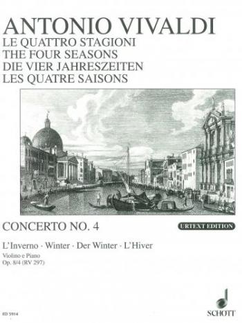 Four Seasons: Winter: Violin and Piano