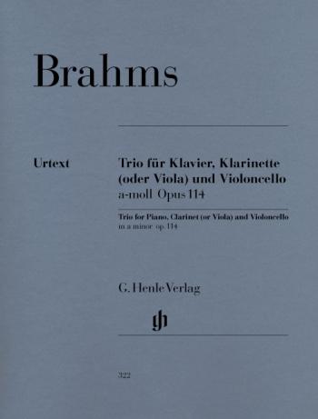 Clarinet Trio: Clarinet Cello and Piano
