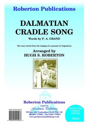 Dalmatian Cradle Song: Vocal Solo