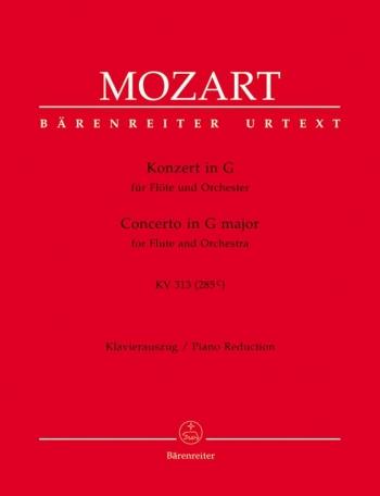 Concerto G Major K313: Flute And Piano (Barenreiter)
