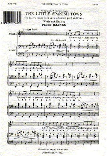 Little Spanish Town: Vocal: Unison