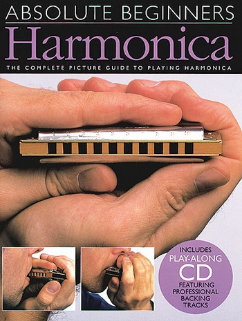 Absolute Beginners: Harmonica: Tutor: Bk&cd