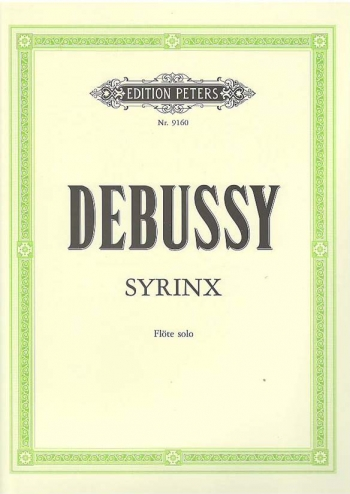 Syrinx: Flute Solo (Peters)