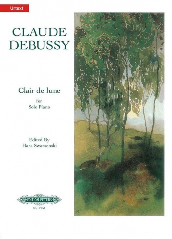Clair De Lune: Piano  (Peters)