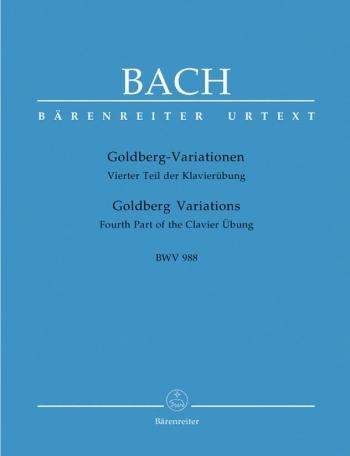 Goldberg Variations: Piano (Barenreiter)