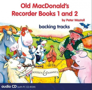 Old Macdonalds Recorder Books 1 And 2 Cd: Recorder: Backing Track