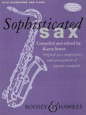 Sophisticated Sax: Alto Sax & Piano (street)
