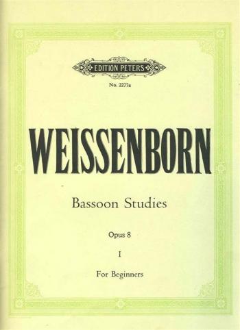 Bassoon Studies: Vol.1: Op.8 (Peters)