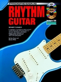 Progressive Rhythm Guitar: Book & CD