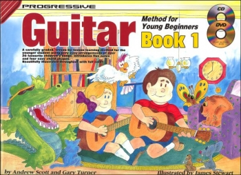 Progressive Guitar Method for the Young Beginner Book 1: Book CD & DVD (Turner)