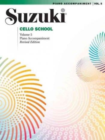 Suzuki Cello School Vol.5 Piano Accompaniment (Revised)