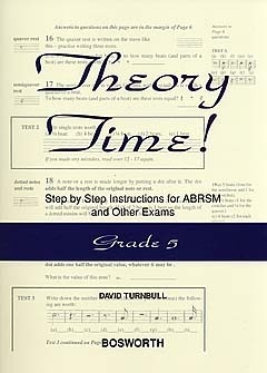Theory Time Grade 5 Workbook (turnball)