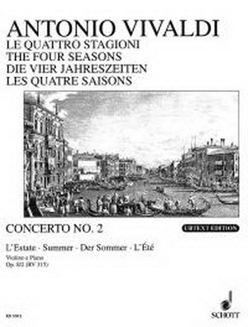 Four Seasons: Summer: Violin and Piano