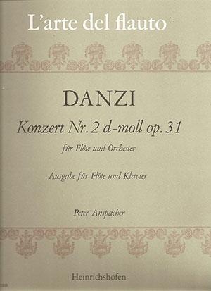 Concerto: No 2: D Minor: Op31: Flute & Piano (Heinrichshofen)