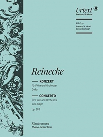 Concerto D Major: Op283: Flute & Piano  (Breitkopf)
