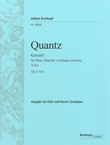 Concerto G Major: Flute  (Breitkopf)