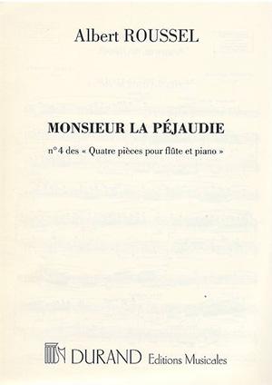 Joueurs De Flute: Op27: 4: Mr De La Pejaudie: Flute & Piano (Durand)