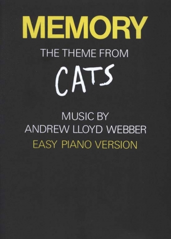 Memory From Cats: Easy Piano: Single