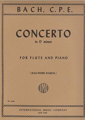 Flute Concerto D Minor: Flute & Piano (International)