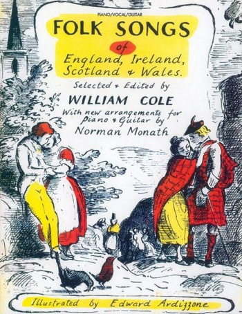 Folk Songs Of England Ireland Scotland Wales: Piano Vocal Guitar