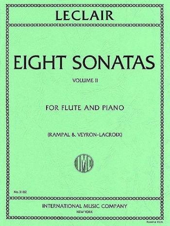8 Sonatas: Vol 2: Flute & Piano (International)