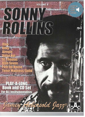 Aebersold Vol.8: Sonny Rollins: Various: All Instruments: Book & CD