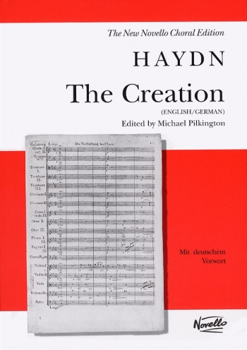 Creation: Vocal Score (Pilkington)  (Novello)
