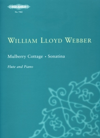 Mulberry Cottage Sonatina : Flute & Piano (Peters)