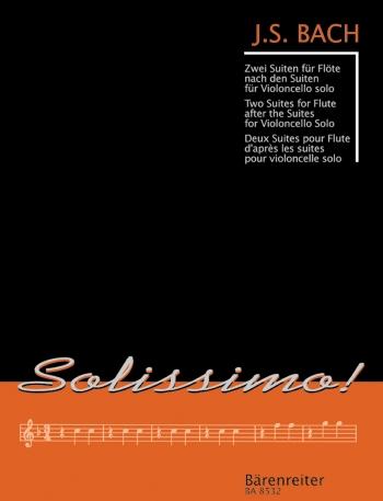 2 Suites: Bwv1007and1009: Flute  Solo (Barenreiter)