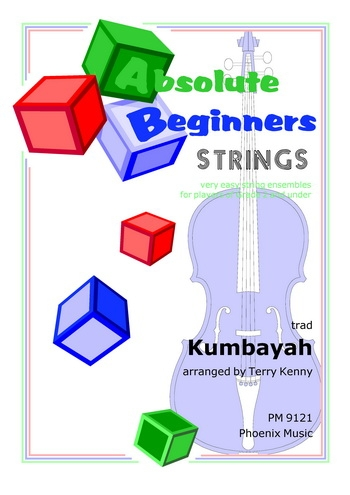 Absolute Beginners: Kymbayah: String Ensemble: Score and Parts (cathrine)