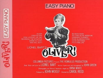 Oliver: Easy Piano Selections