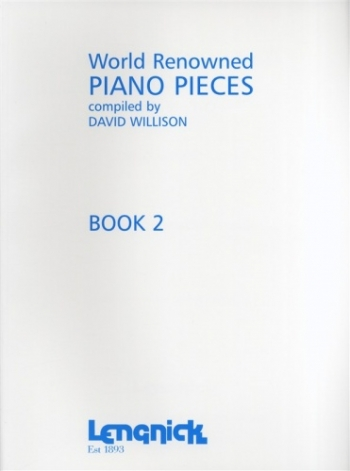 World Renowned Piano Pieces: Book 2