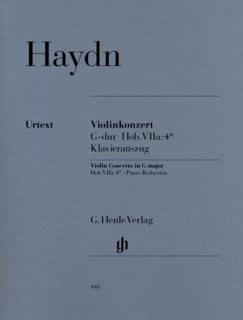 Concerto No2: G Hob Viia: 4: Violin and Piano