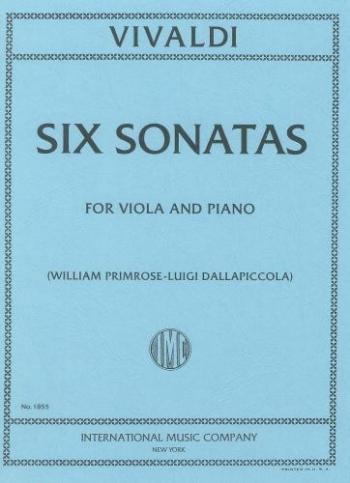 Sonatas 6: Viola and Piano