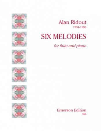 6 Melodies Flute  (Emerson)